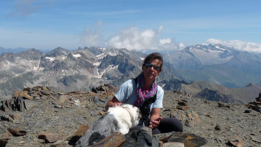 Caroline, acompagnement en montagne