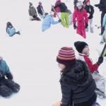 Raquettes juniors et Jeux de Neige : Construction d'igloo