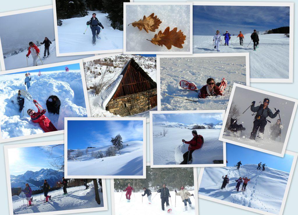 raquettes à neige peyragudes val louron Loudenvielle