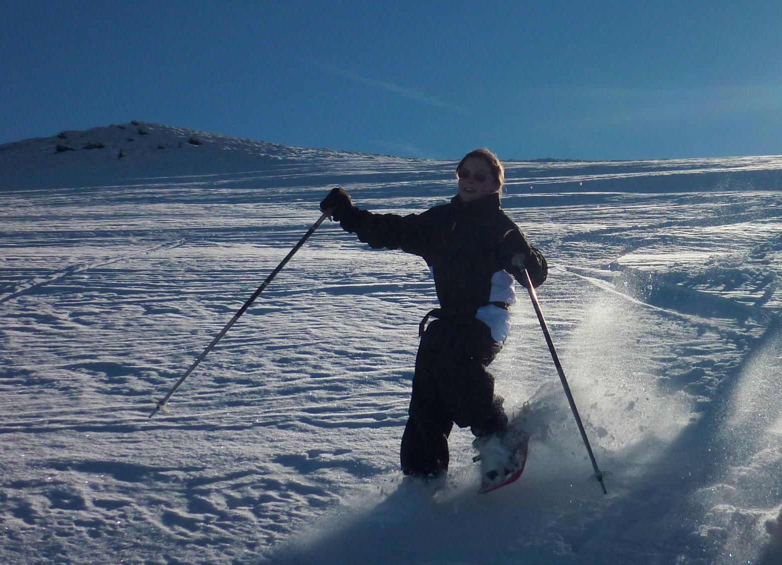 Une couche de poudreuse sur une neige plus dure balades et randonn es dans les pyr n esbalades - Combien dure le retour de couche ...