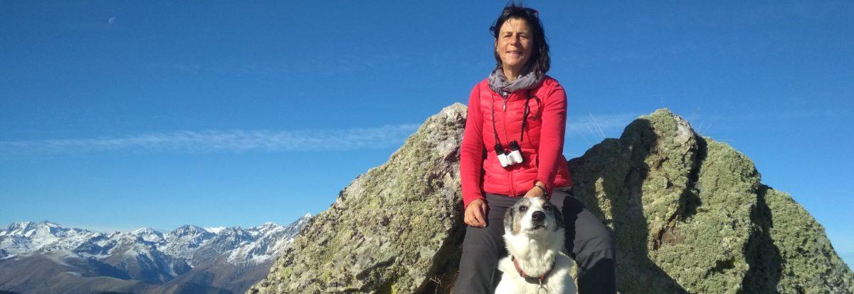 Caroline DAVID  vous accompagne dans les Pyrénées