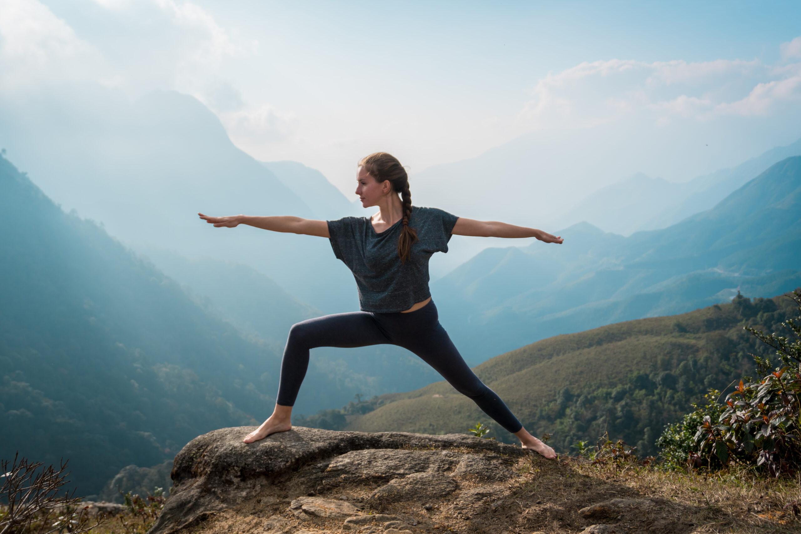 yoga et rando Pyrénées