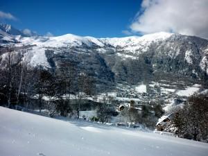 les premières grosses chutes de neige de novembre 2013