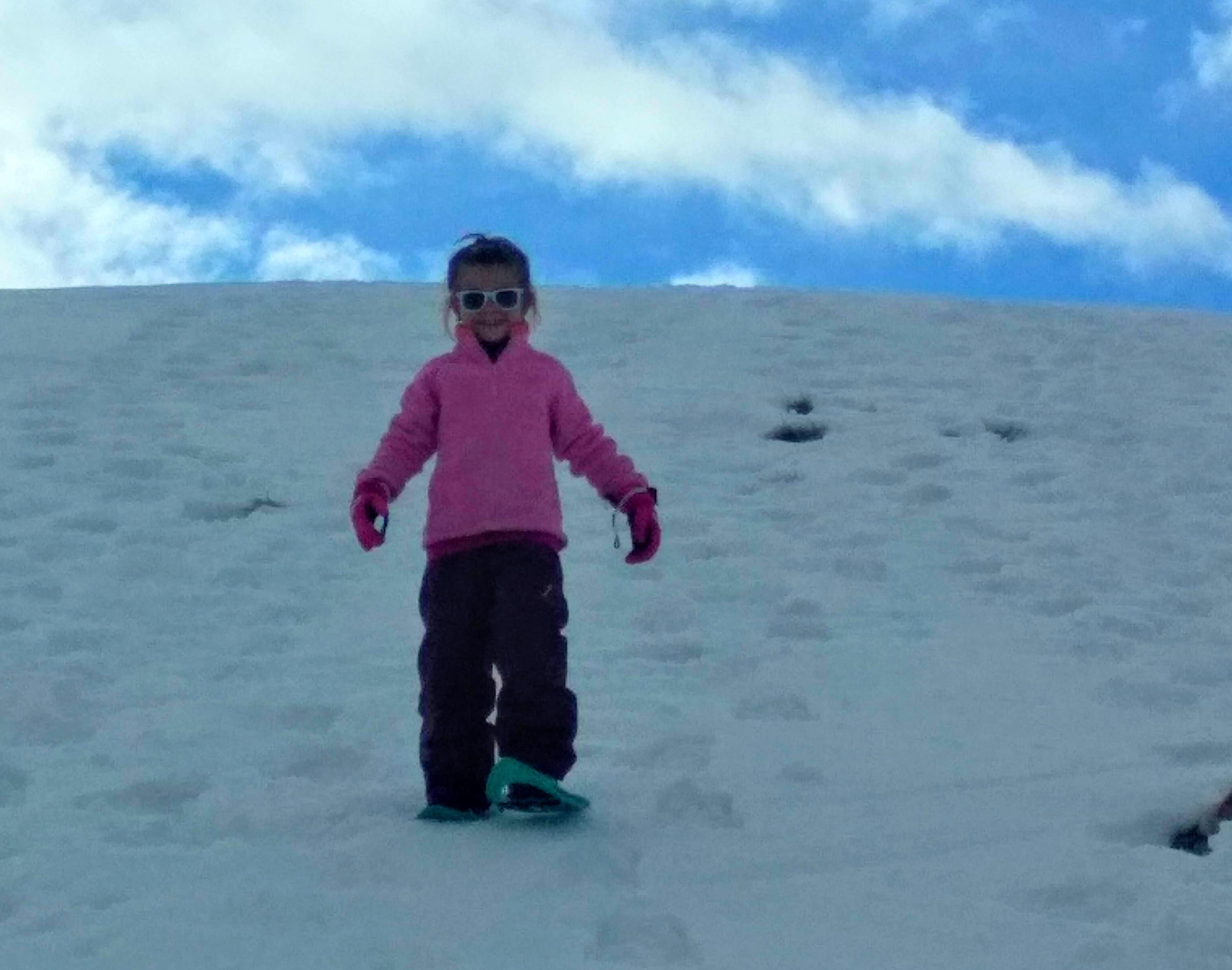 Petite princesse des neiges
